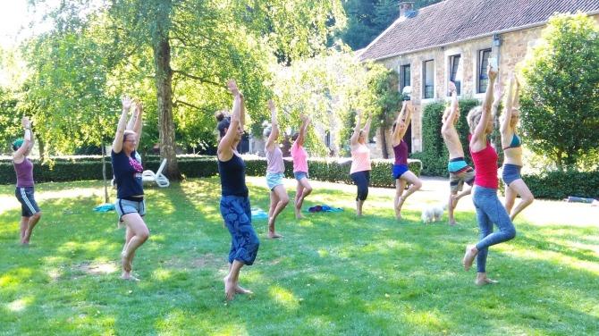 yoga en Dans van Nanette
